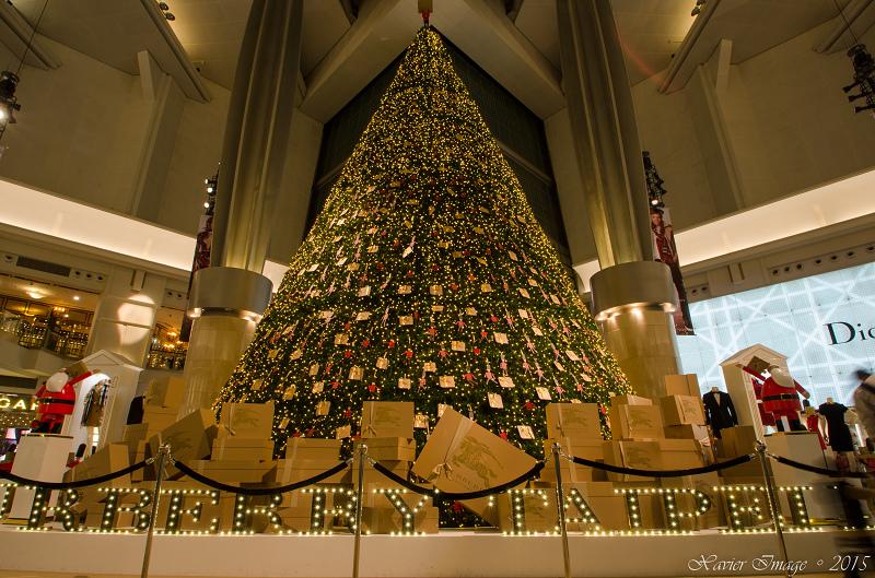 台北信義區夜景聖誕燈飾_台北101 7
