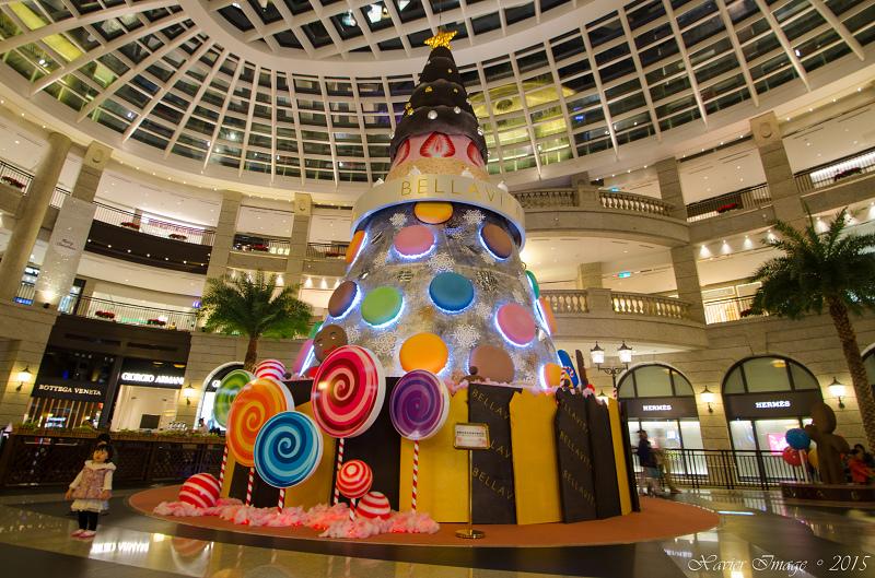 台北信義區夜景聖誕燈飾_Bellavita
