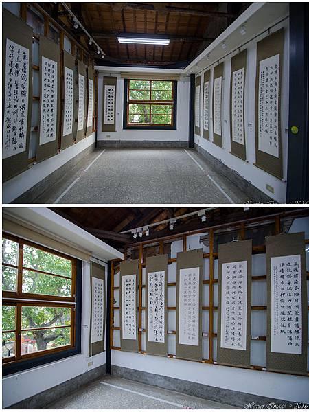 台南安平朱玖瑩故居2樓書法展示