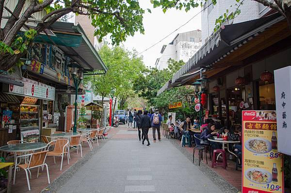 台南府中街入口