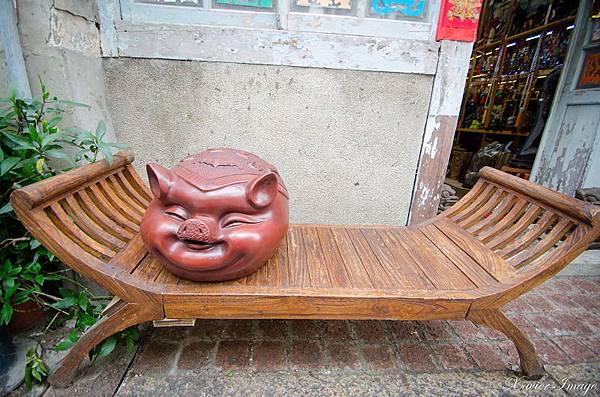 台南神農街_辛記古玩藝品
