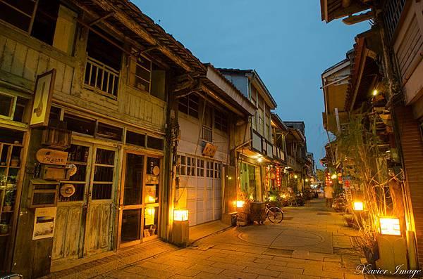 台南神農街夜晚