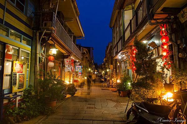 台南神農街夜晚 3