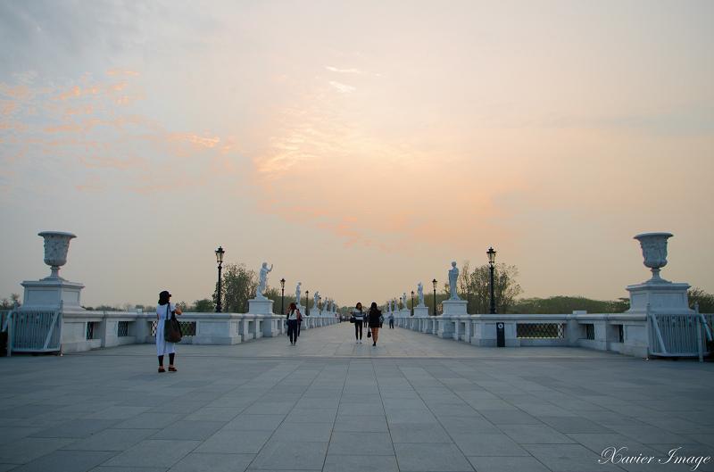 台南奇美博物館黃昏