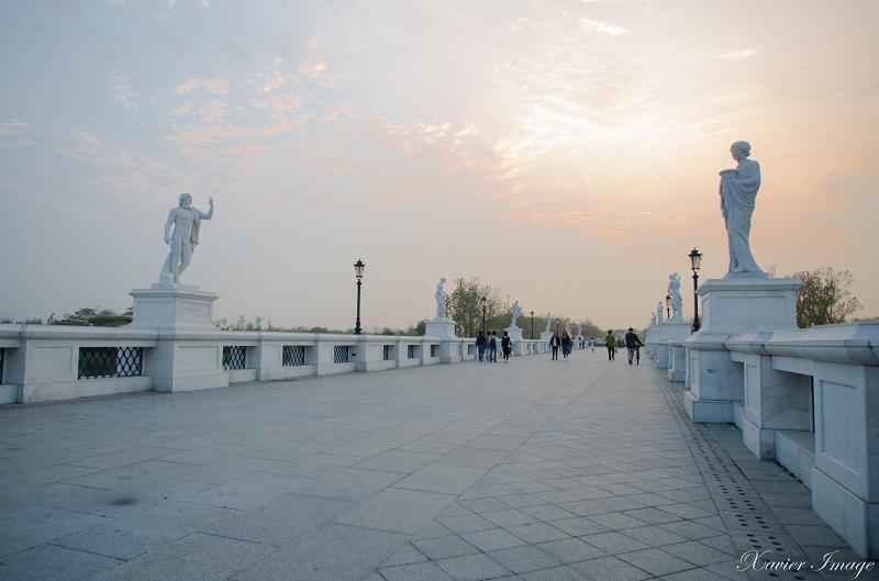 台南奇美博物館黃昏 2