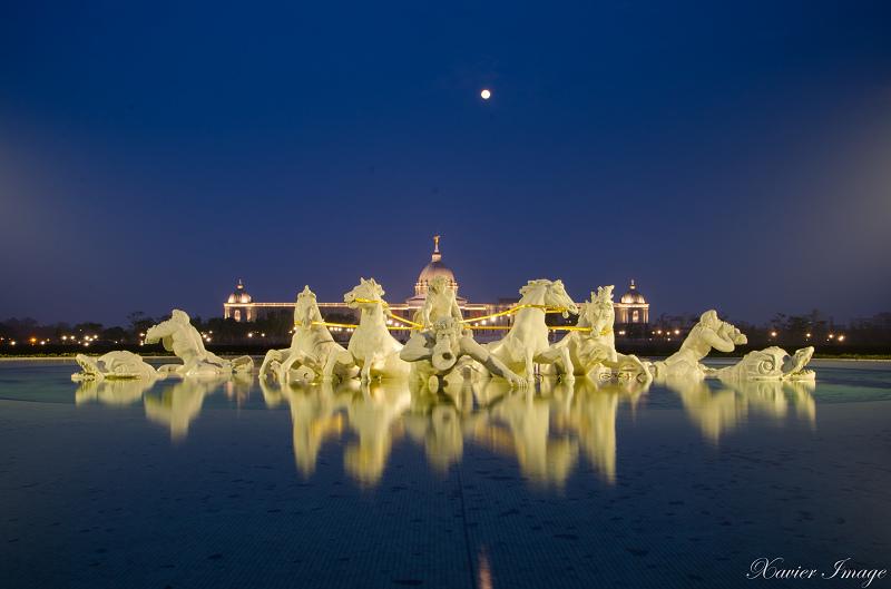 台南奇美博物館夜晚