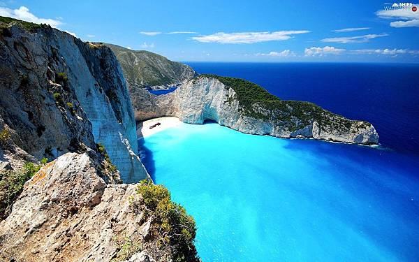 希臘Navagio Beach