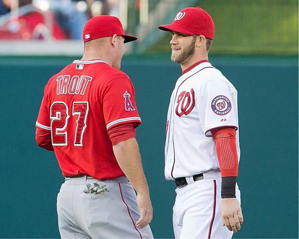 Mike Trout_Bryce Harper