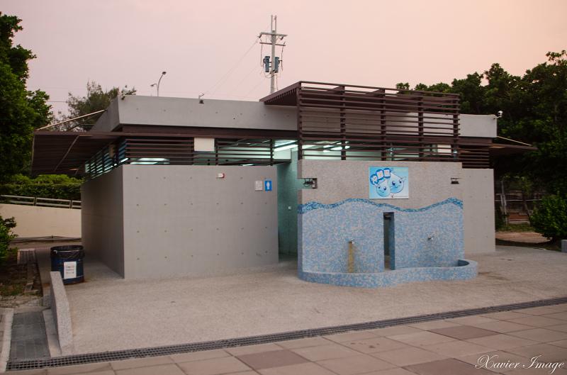 台南黃金海岸廁所