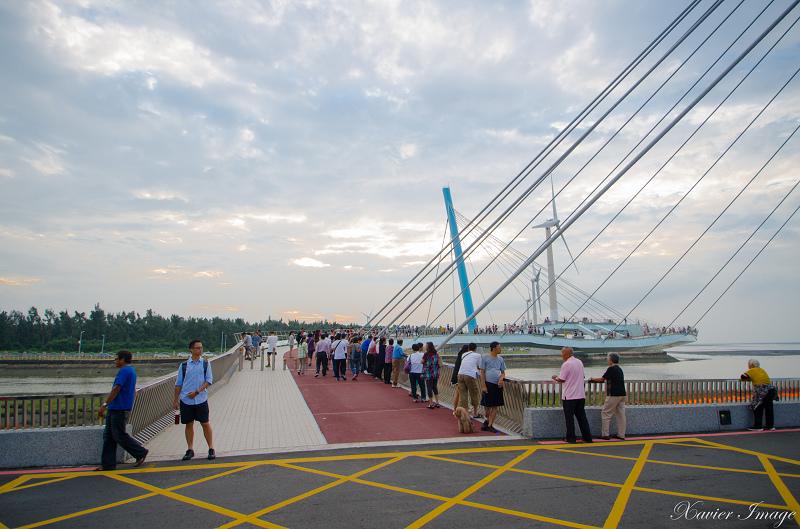 高美濕地景觀橋 2