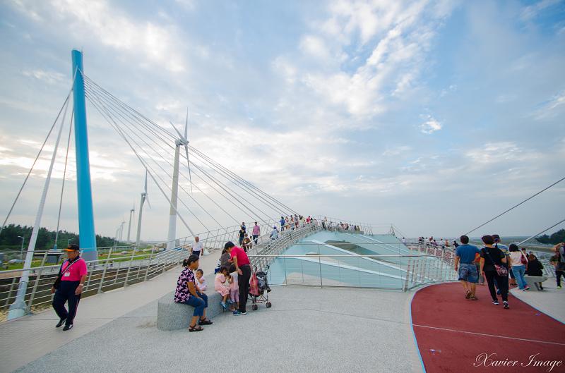 高美濕地景觀橋 5