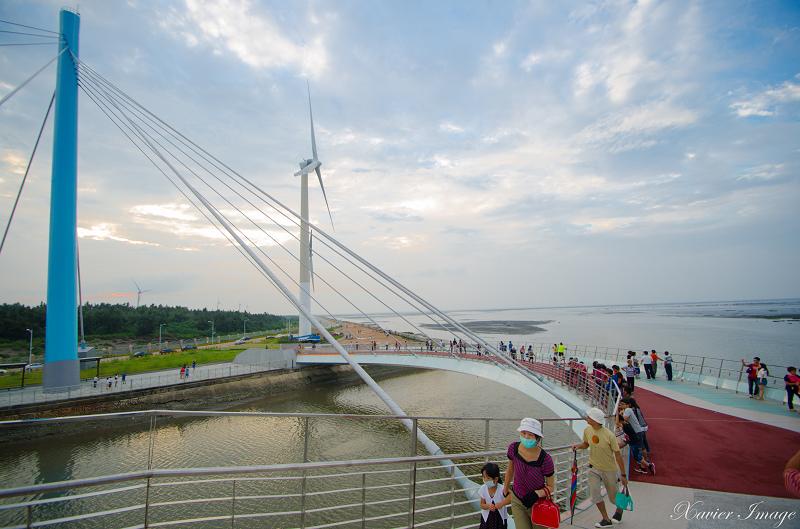 高美濕地景觀橋 7