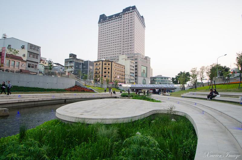 台中柳川藍帶水岸 11