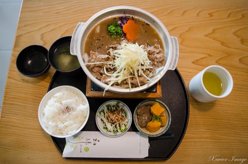 初綠和風定食抹茶專賣店_霜降牛肉 2
