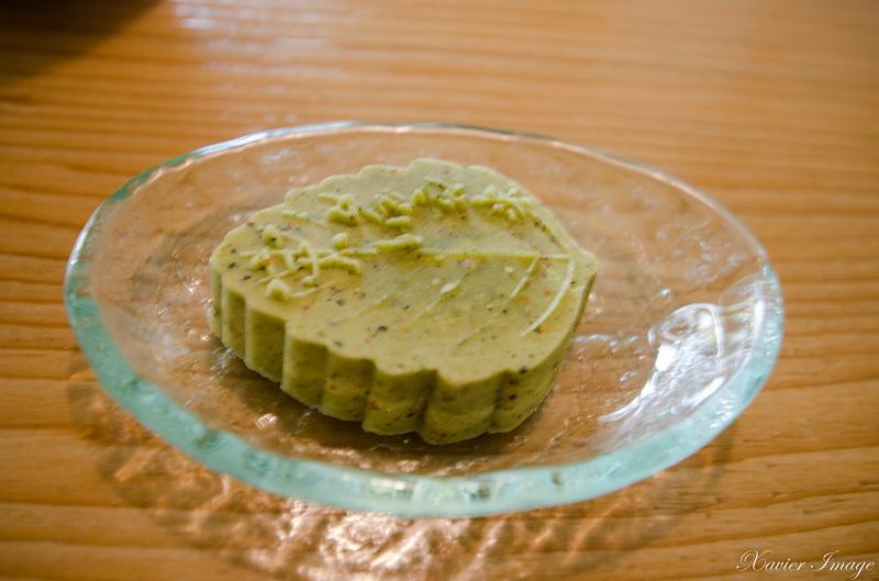 初綠和風定食抹茶專賣店_綠豆糕