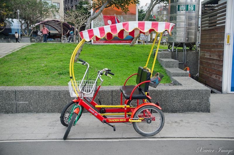 八里兩人自行車