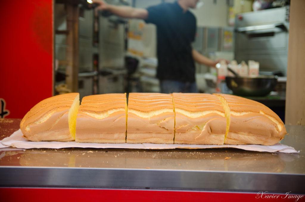 淡水緣味古早味現烤蛋糕 2