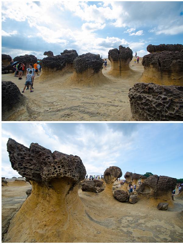 野柳地質公園_蕈狀岩