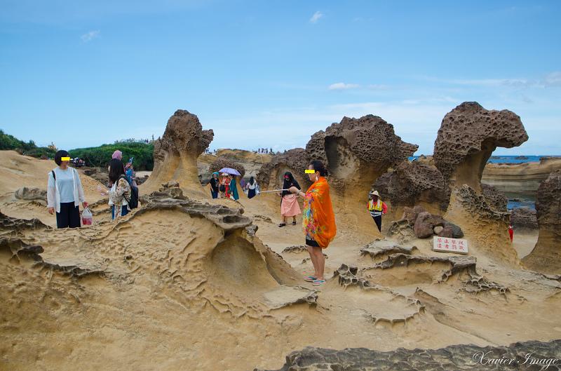 野柳地質公園_蕈狀岩 2