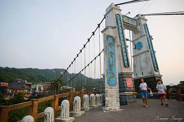 平溪線十分老街_靜安吊橋