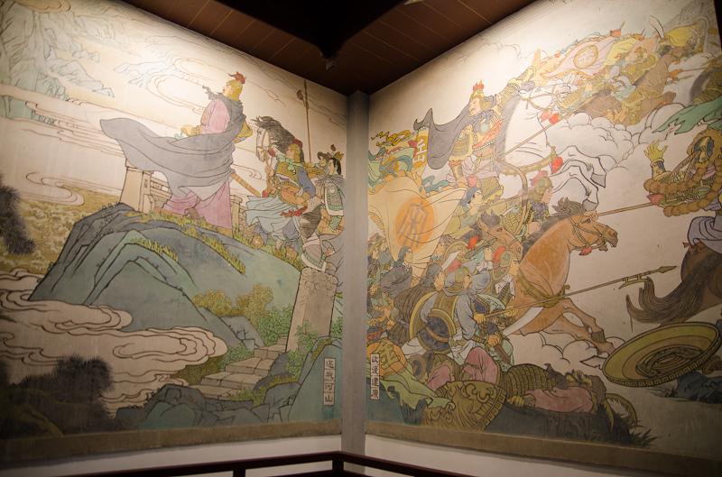 杭州西湖岳王廟_壁畫 2