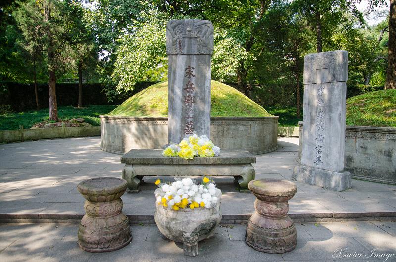 杭州西湖岳王廟_岳飛墓