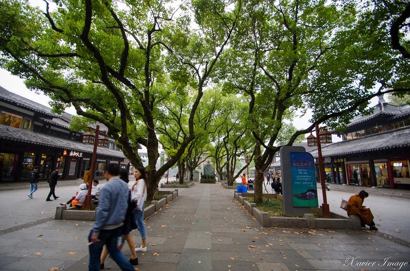 杭州西湖岳王廟美食廣場 2