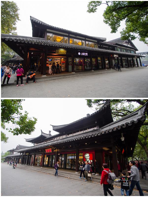 杭州西湖岳王廟_美食廣場