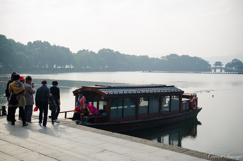杭州西湖岳王廟碼頭_遊船 2