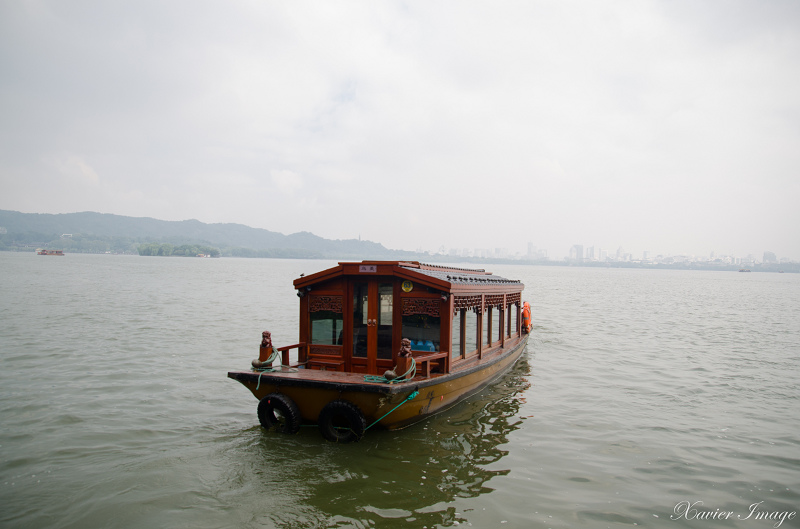 杭州西湖岳王廟碼頭_遊船 3