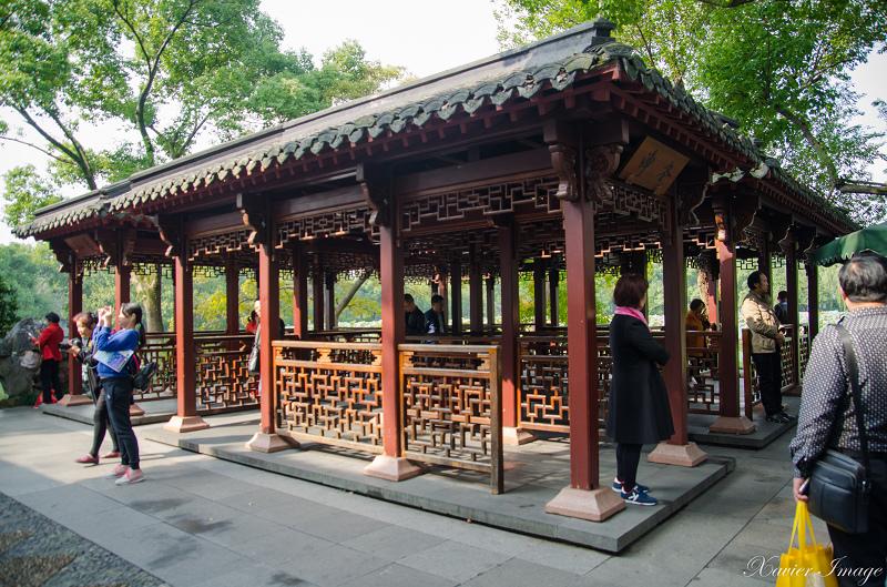 杭州西湖三潭印月_卍字亭