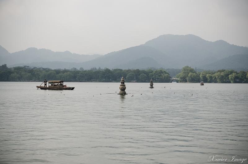 杭州西湖三潭印月_石塔