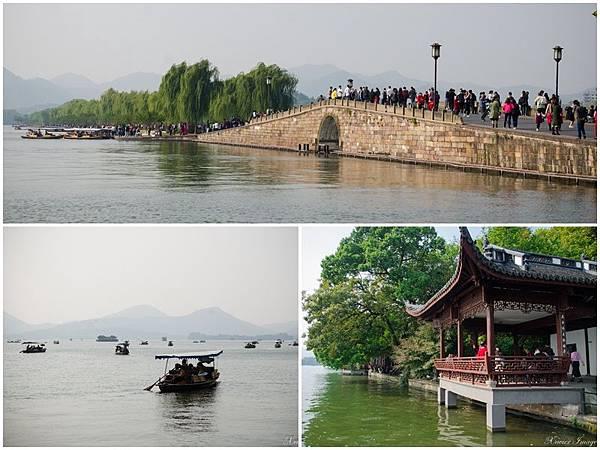 杭州西湖_斷橋殘雪_平湖秋月封面