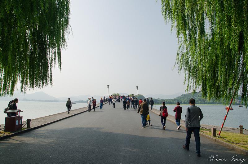 杭州西湖_白堤_橋