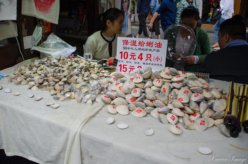 杭州河坊街_蛤蠣油