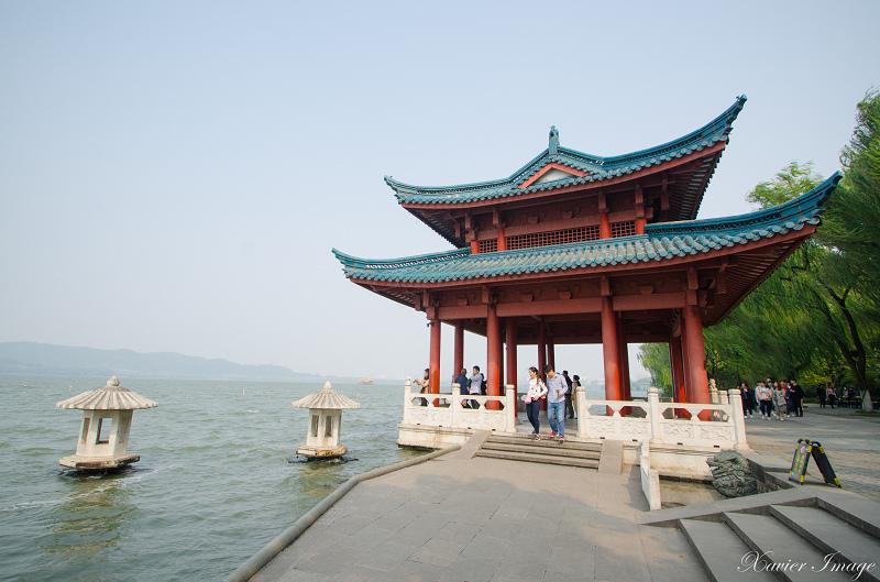 杭州西湖十景_柳浪聞鶯_御碼頭