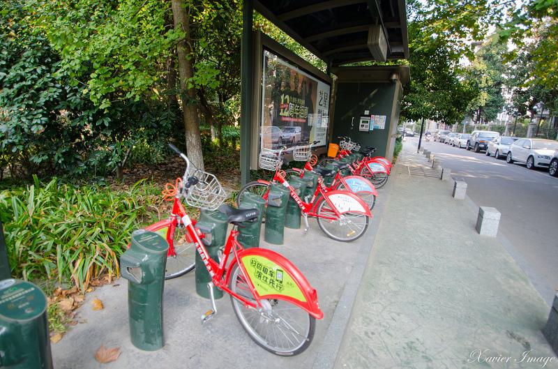 杭州公共自行車站