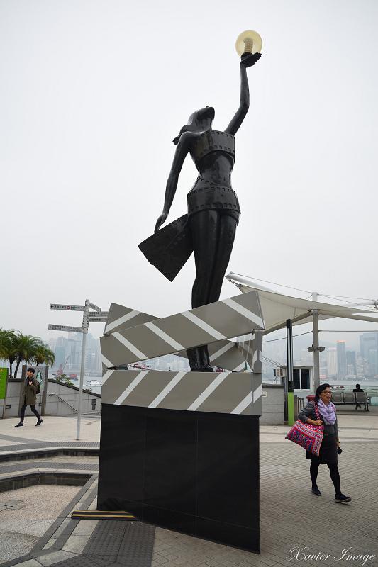 香港星光花園_電影金像獎女神銅像