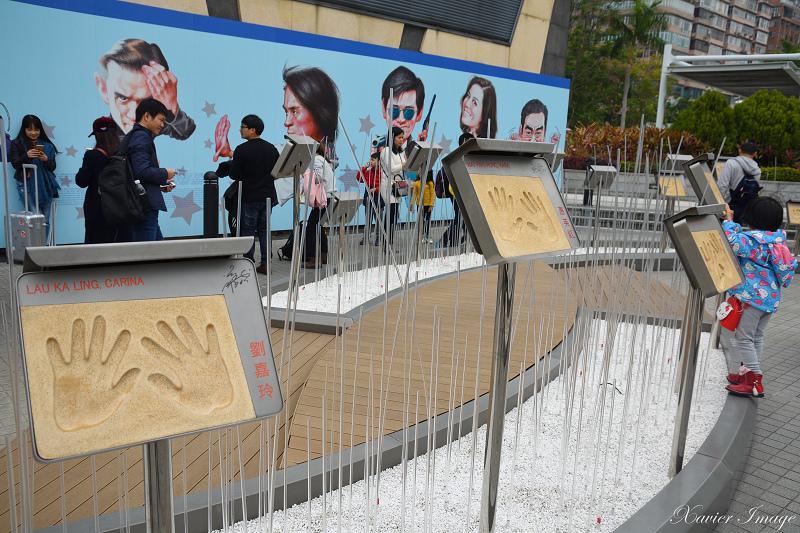 香港星光花園_明星掌印牌匾 8