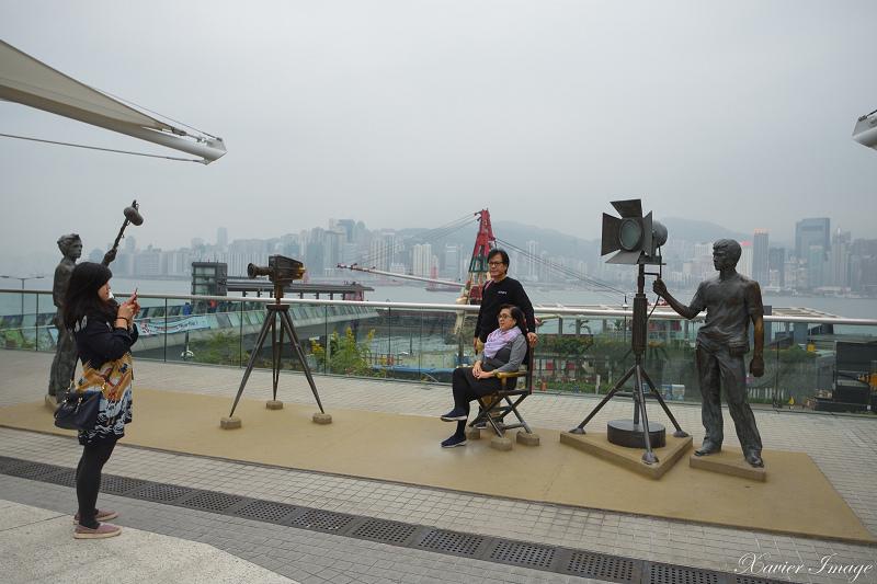 香港星光花園_劇組銅像 4