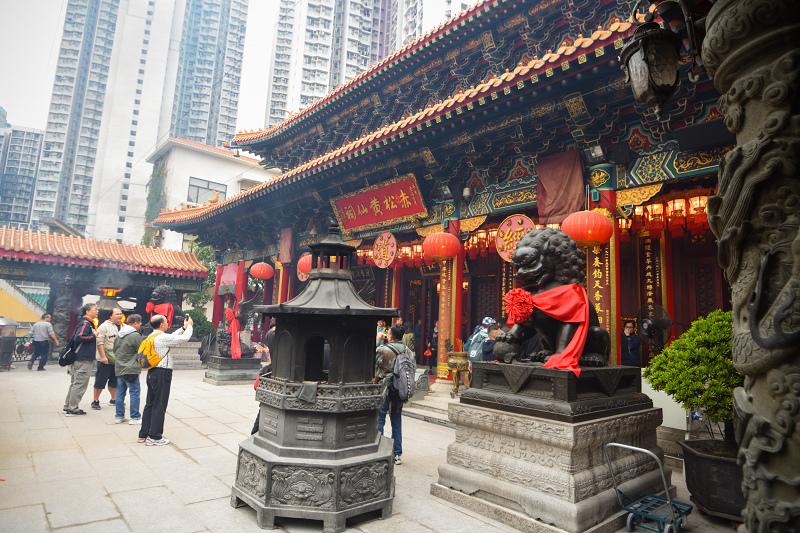 香港黃大仙祠_主殿