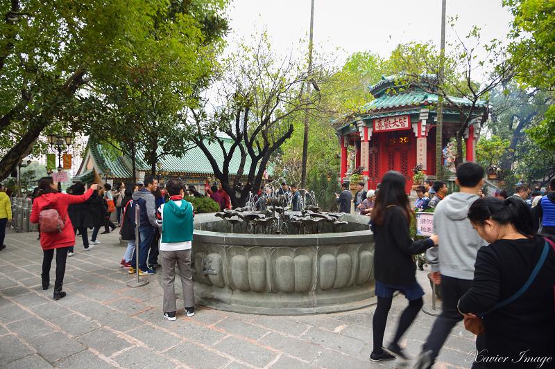 香港黃大仙祠_玉液池