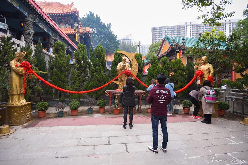 香港黃大仙祠_月下老人