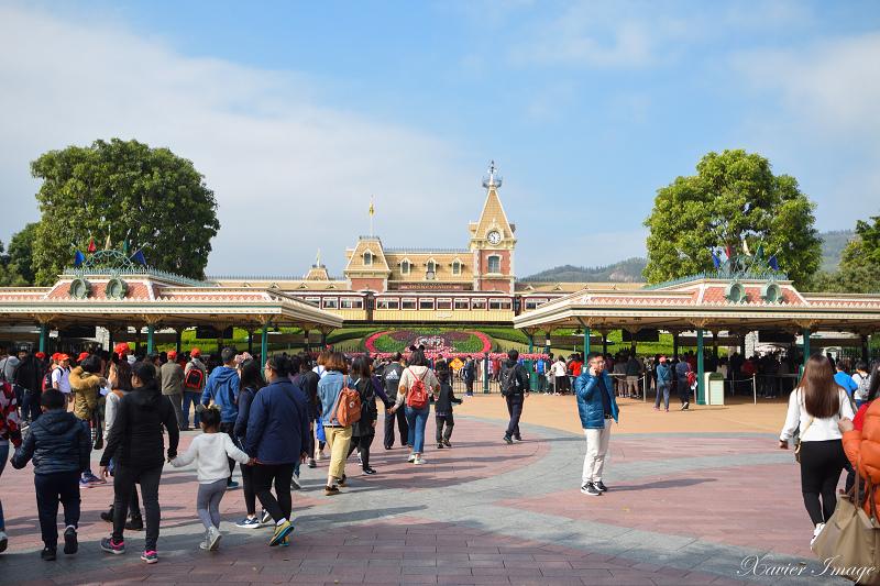 香港迪士尼樂園入口