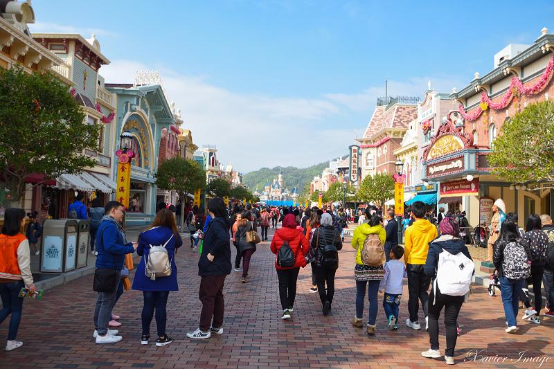 香港迪士尼樂園_美國小鎮大街