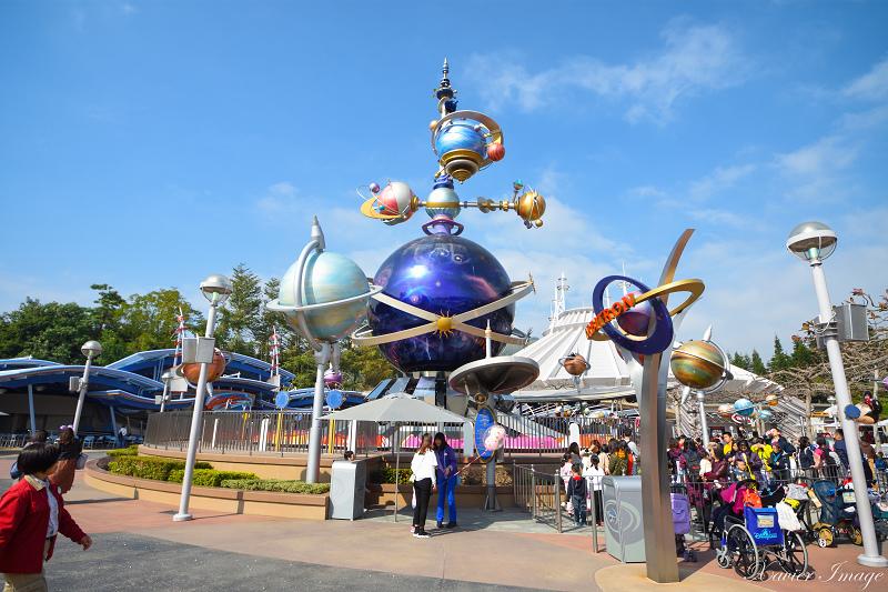 香港迪士尼樂園_明日世界_太空飛碟