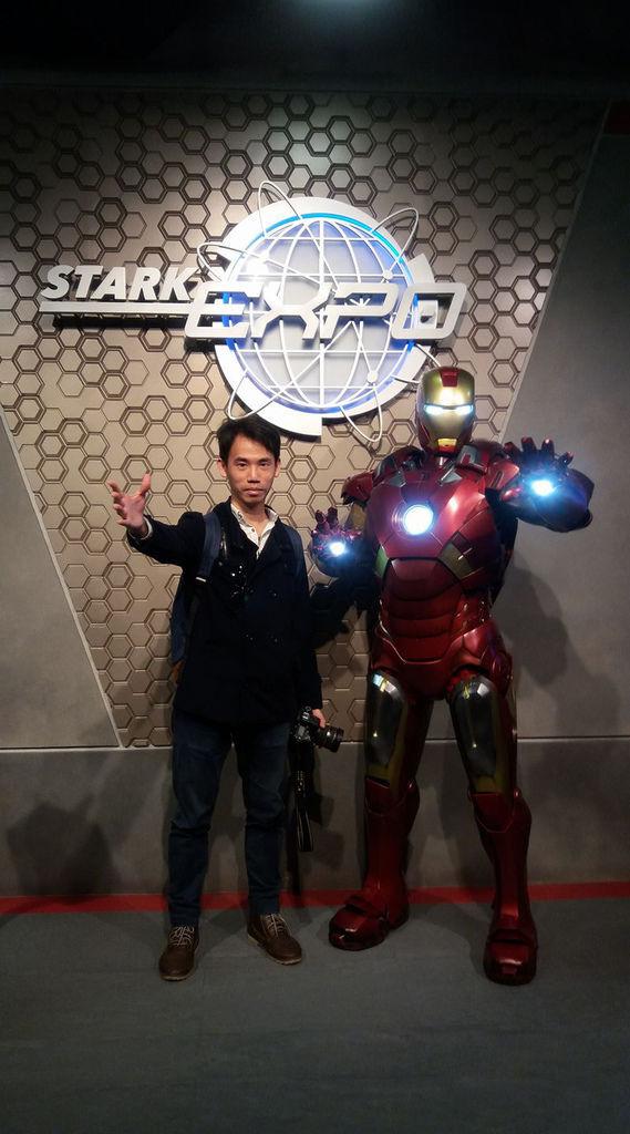 香港迪士尼樂園_未來世界_裝甲奇俠裝備展 2