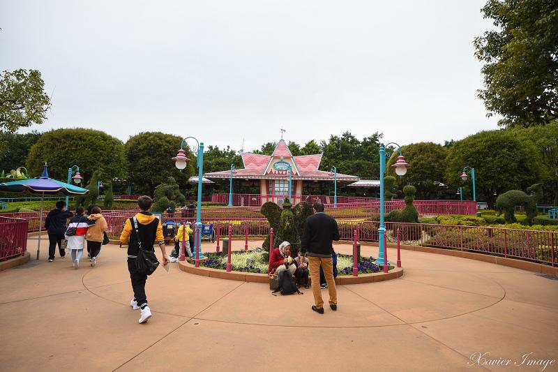 香港迪士尼樂園_幻想世界火車站