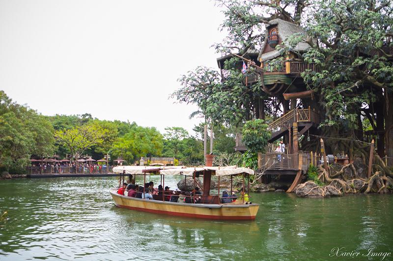 香港迪士尼樂園_探險世界_森林河流之旅 3