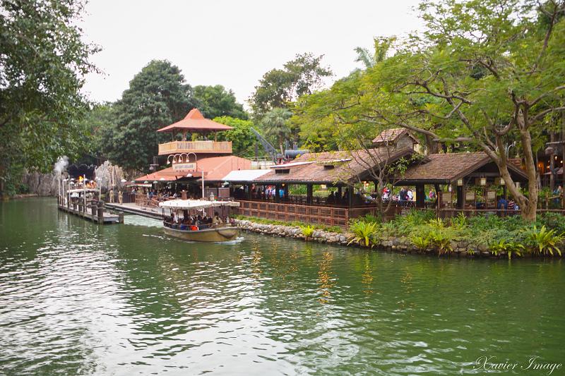香港迪士尼樂園_探險世界_森林河流之旅 5